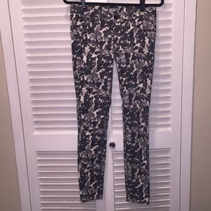 Pattern Jean Express pants